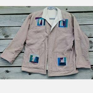 Boho Hippie Corduroy Jacket